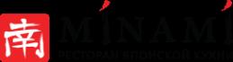 Логотип компании Минами